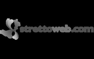 Logo bianco e nero Strettoweb