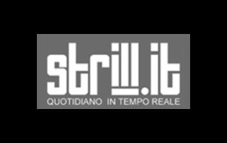 Logo bianco e nero Strill