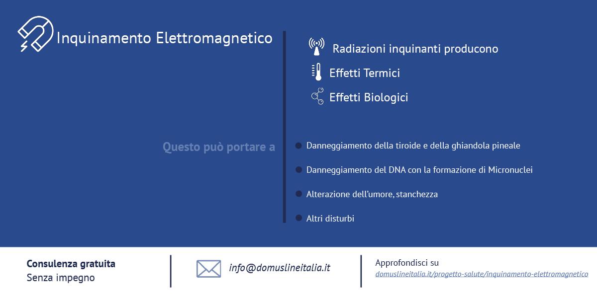 cause e effetti dell'inquinamento elettromagnetico